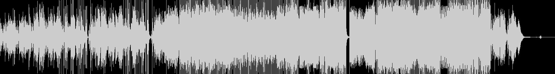 カルテットの未再生の波形