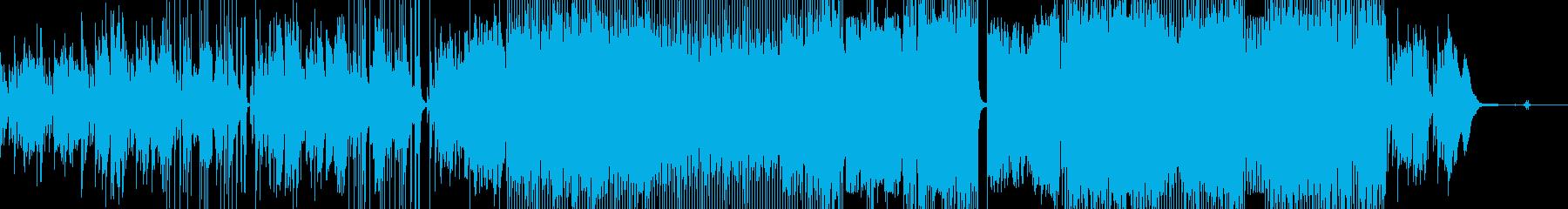 カルテットの再生済みの波形
