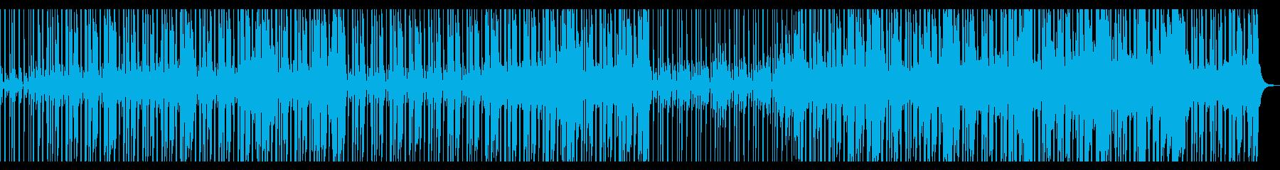 【短いVer2】スローファンクロックの再生済みの波形