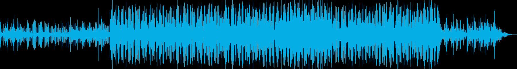 恐怖・不安・悲哀・サスペンスのピアノ曲の再生済みの波形