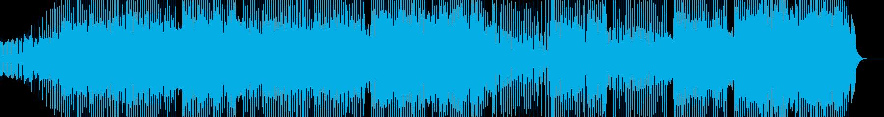 科学・浮遊感漂うテクノ 表拍リズム Bの再生済みの波形