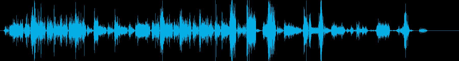 犬、ロットワイラーのうなり声、うな...の再生済みの波形
