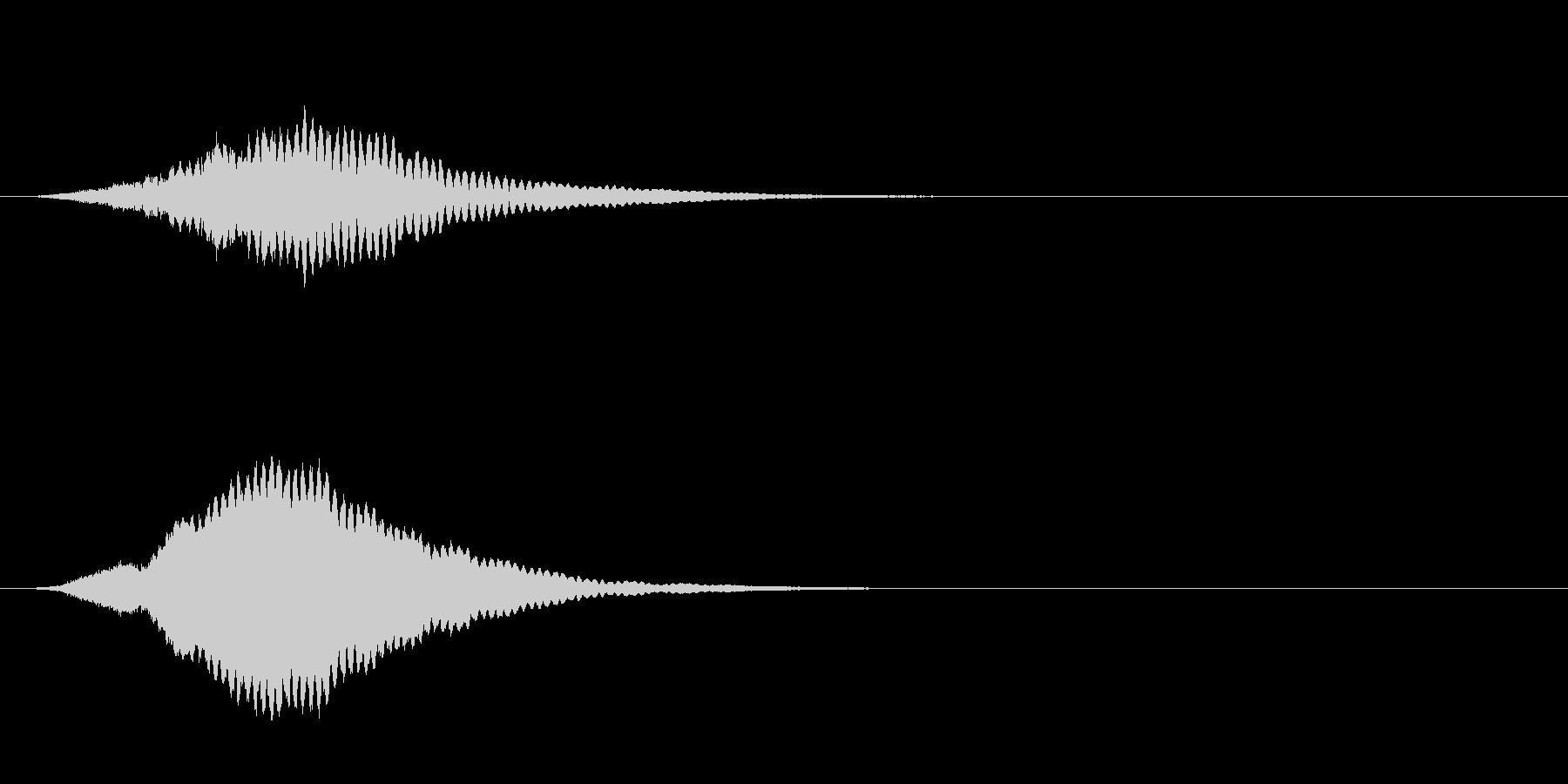 高シャープリンギングトーンスティンガーの未再生の波形
