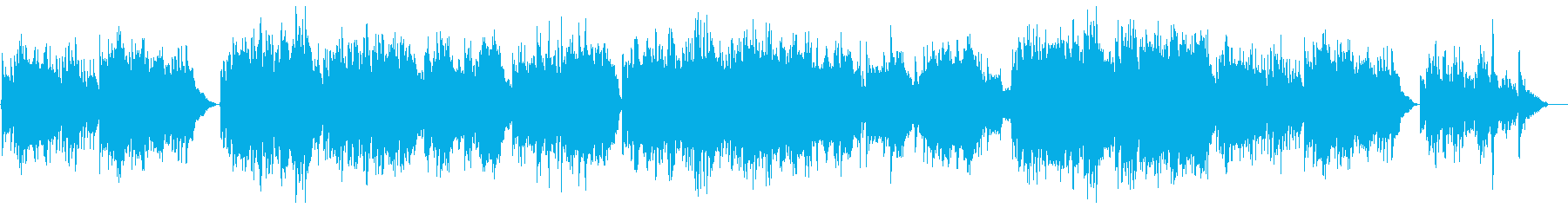 Slow and gentle relaxation sound's reproduced waveform
