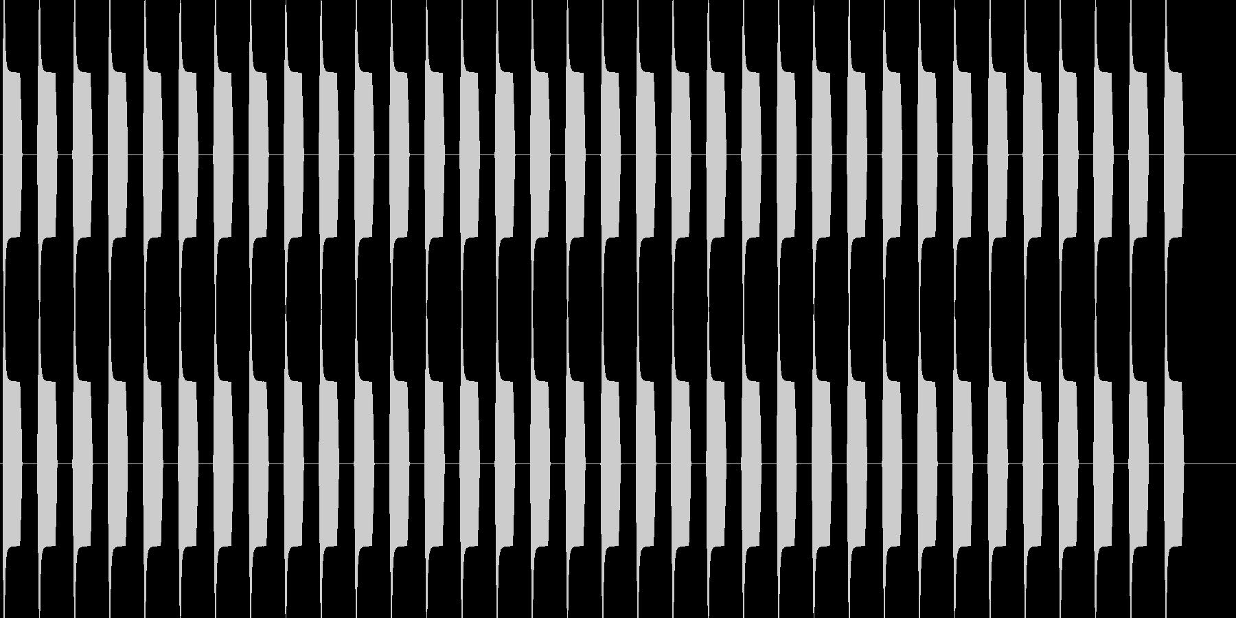 ブーブー な警告音 緊急連絡 アラーム3の未再生の波形