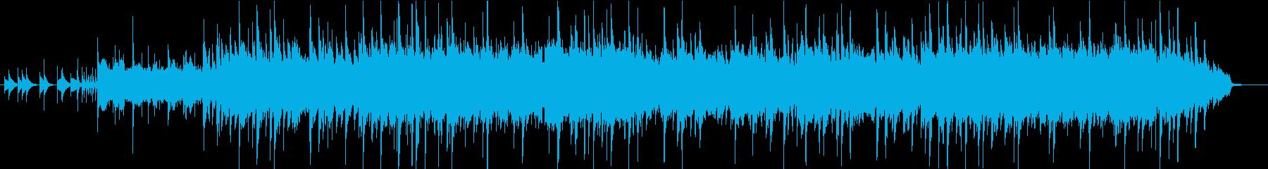 オルゴールとピアノの優しいスローバラードの再生済みの波形