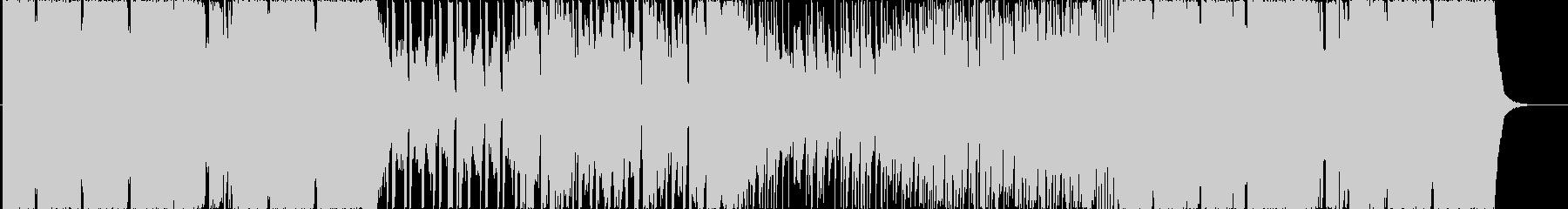 スローでカワイイフューターベースBGMの未再生の波形