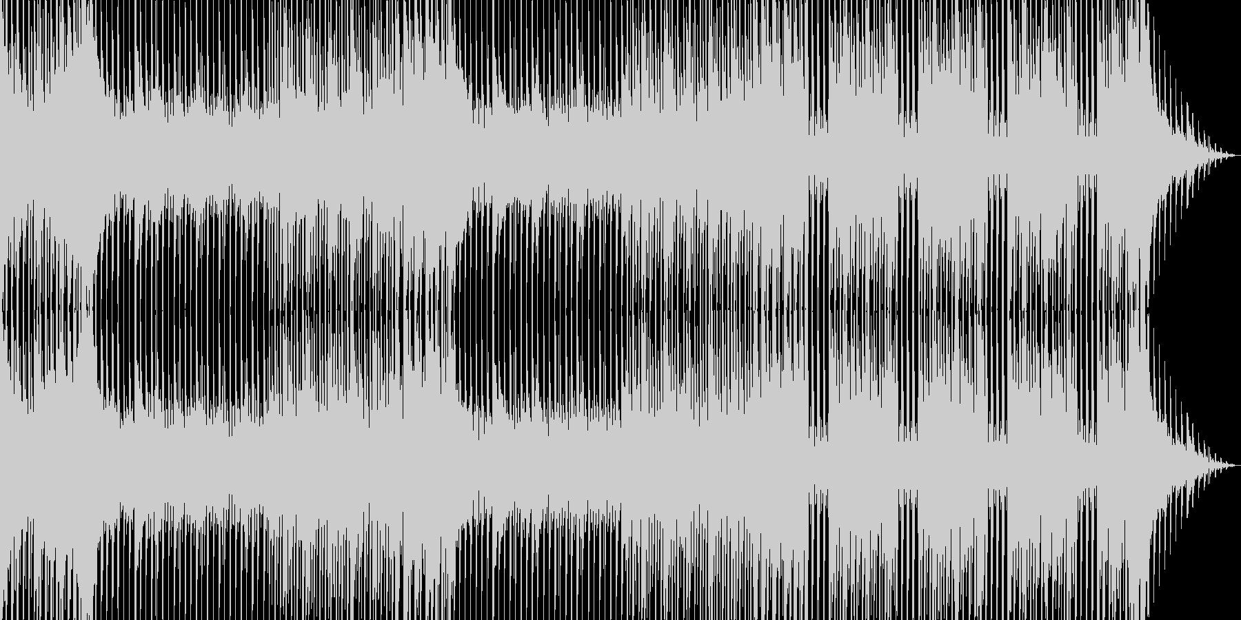 ダンス。ビデオコード、毎日。の未再生の波形