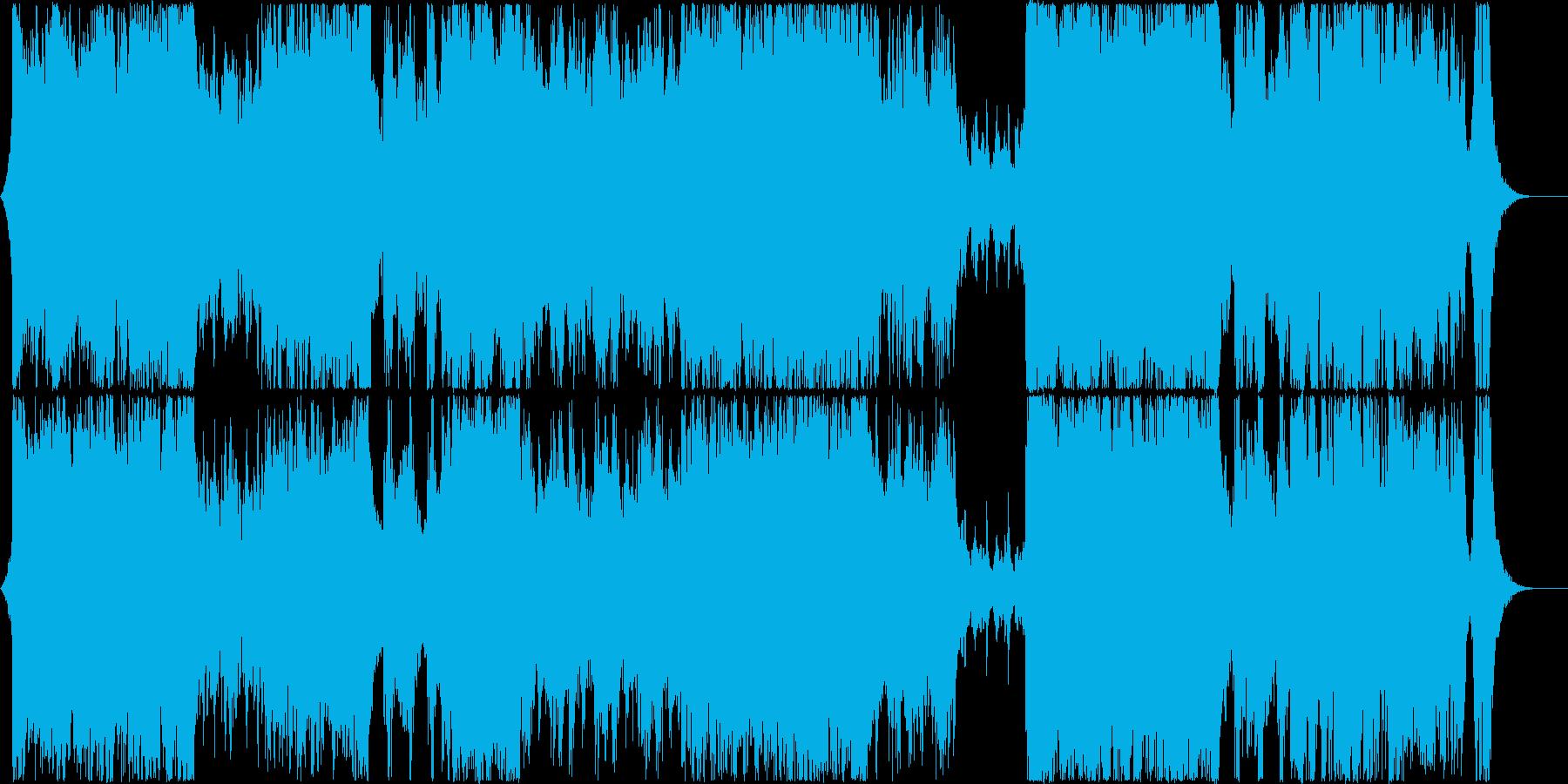 テーマパーク風オーケストラの再生済みの波形