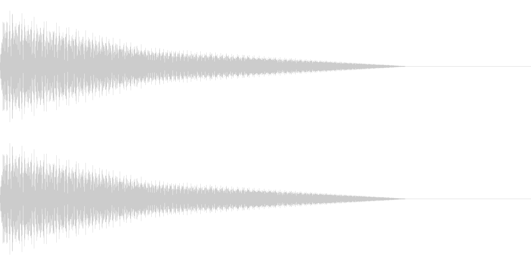 プーン(コミカル/ファンシー/テレビの未再生の波形