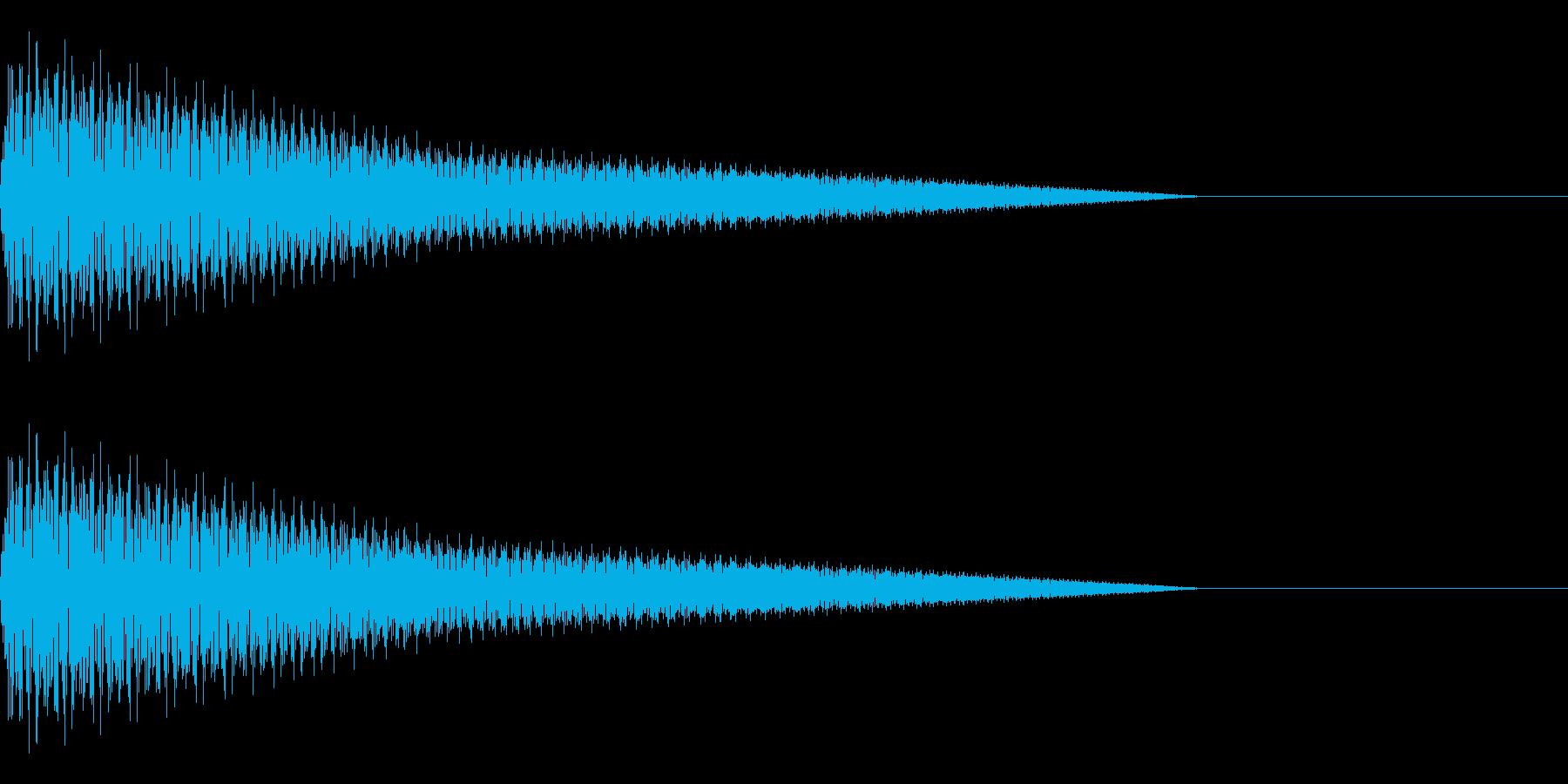 プーン(コミカル/ファンシー/テレビの再生済みの波形