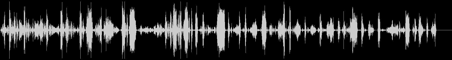 モンスター、タイプB、アグレッシブ2の未再生の波形