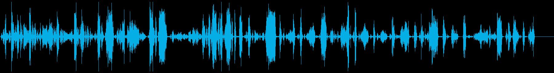 モンスター、タイプB、アグレッシブ2の再生済みの波形