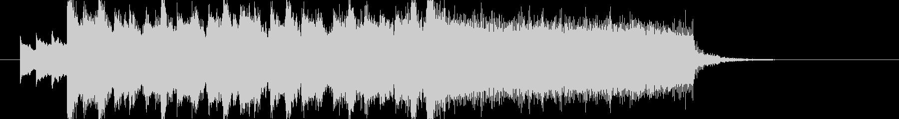 アイドルキラキラポップ4つ打ちジングルaの未再生の波形
