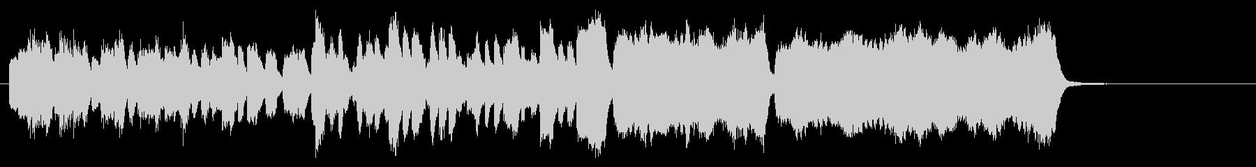 宮廷音楽風ダブルリード四重奏+チェンバロの未再生の波形