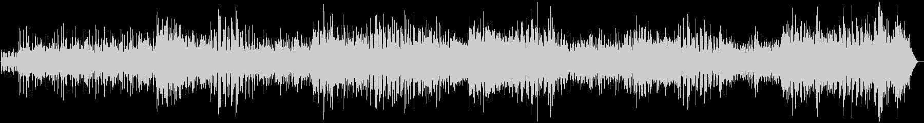 サンバ 爽やかでグルーヴィーなボサノバの未再生の波形