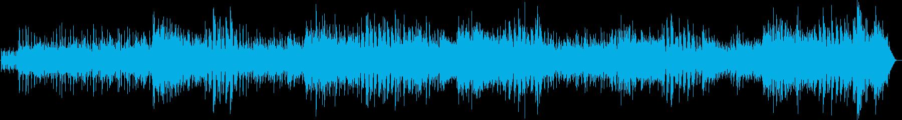 サンバ 爽やかでグルーヴィーなボサノバの再生済みの波形