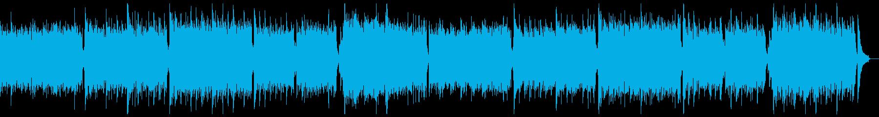 デジタル・未来・知的ピアノ:フルx2の再生済みの波形
