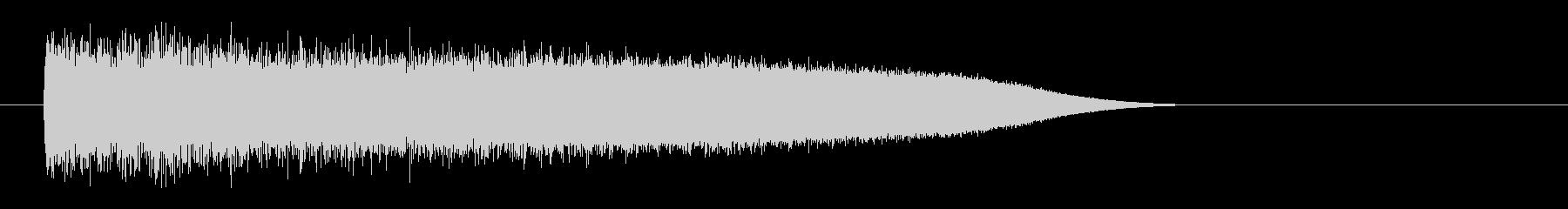 レーザー音-85-3の未再生の波形