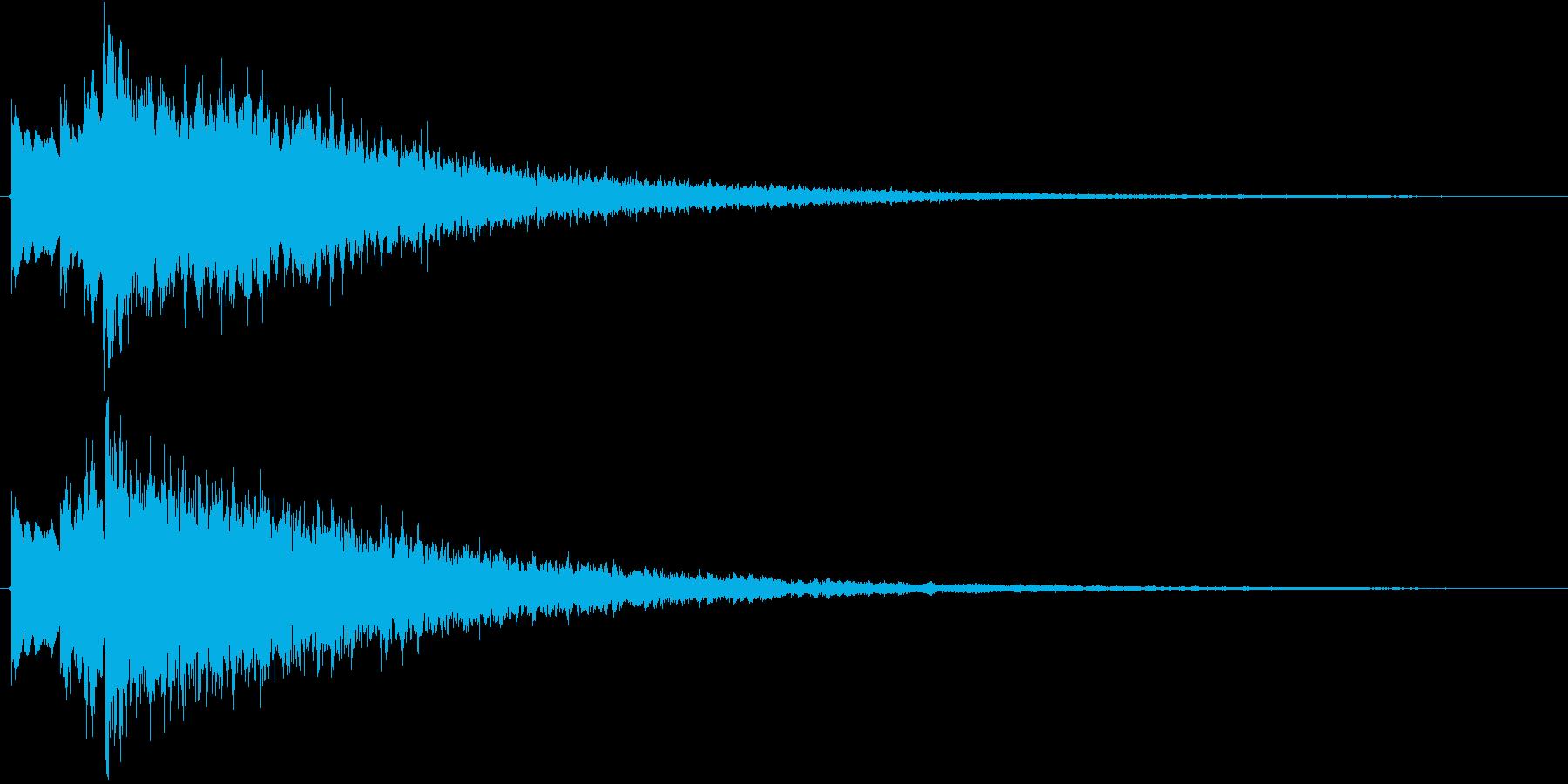 キラーン(星の輝き)の再生済みの波形