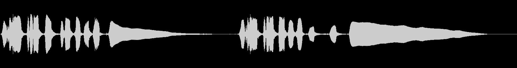 ハーモニカ:トラックトゥアクセント...の未再生の波形