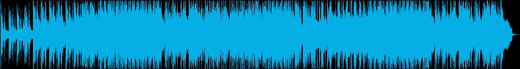ミドルテンポくらいの、ほぼピアノのソロの再生済みの波形