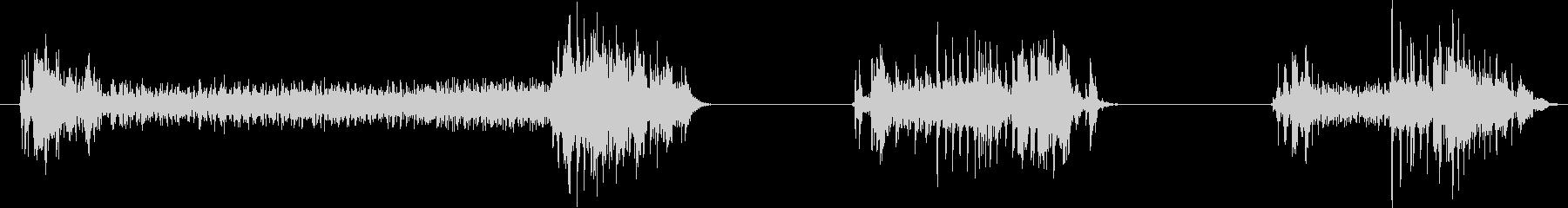 フィクション 電力装置 02をオフにするの未再生の波形