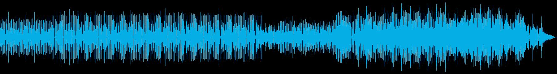 劇伴 クールなミニマルアシッドテクノの再生済みの波形