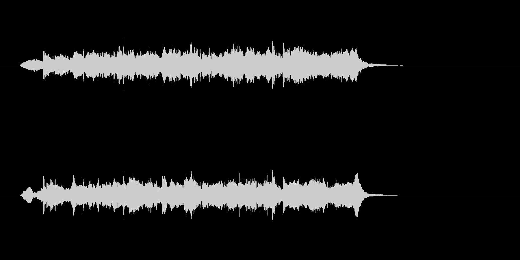 ストリングス ほのぼの 日常 リラックスの未再生の波形