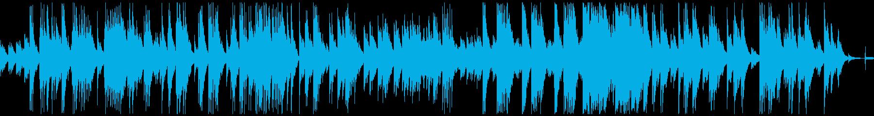 ピアノロマンティック、映画の楽譜、...の再生済みの波形