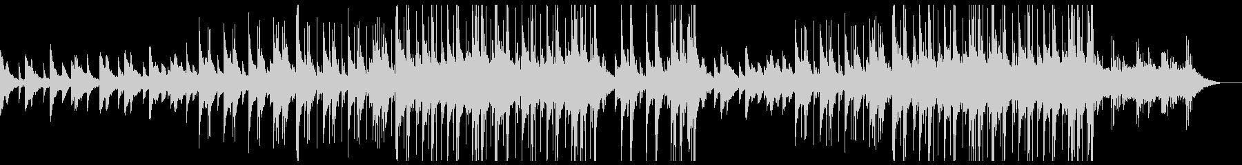 儚げなピアノの感動的トラップビートの未再生の波形