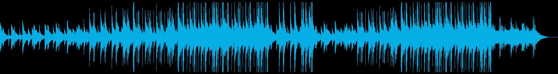 儚げなピアノの感動的トラップビートの再生済みの波形