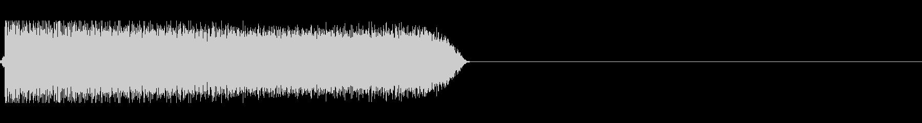 トーンシンセサイザーの未再生の波形