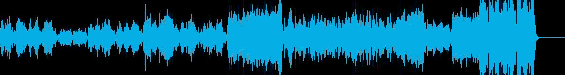 姫・ワルツ・終盤弾けるジャズへ展開 C2の再生済みの波形