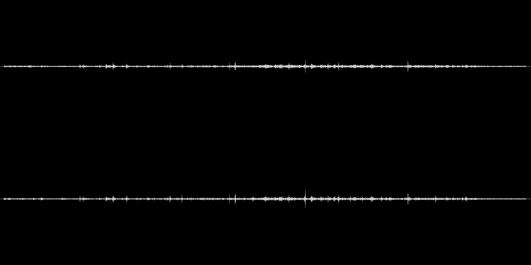 【生音】水の落ちる音(ちょろろーー) …の未再生の波形