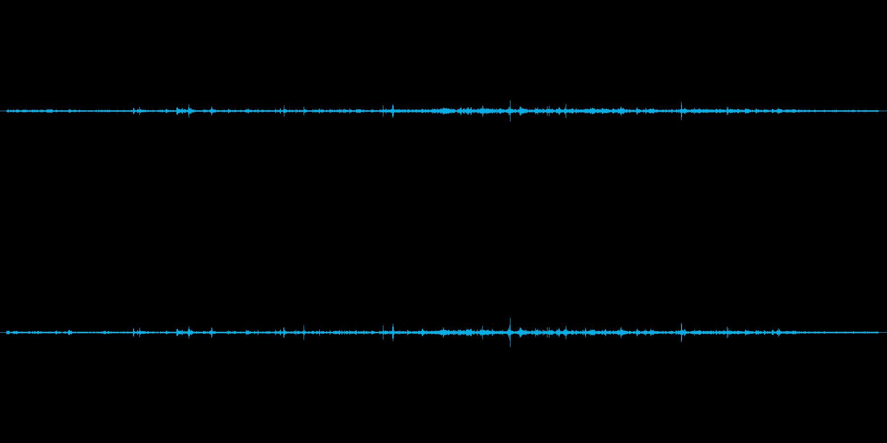 【生音】水の落ちる音(ちょろろーー) …の再生済みの波形