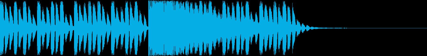 【ピコピコ系】かわいい、ファンタジー世界の再生済みの波形
