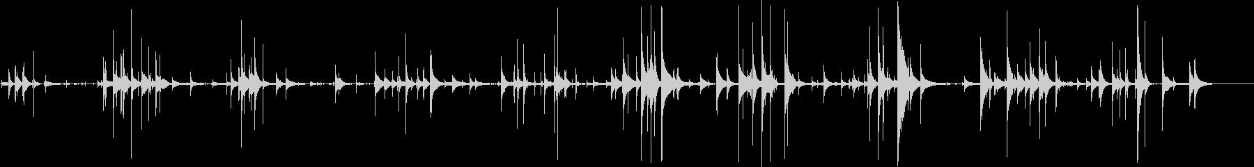 アイスドロップカップ旋回の未再生の波形