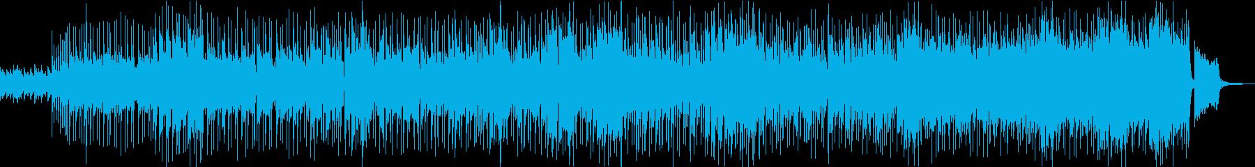 フルートとアコギ、ほのぼの日常系ポップスの再生済みの波形