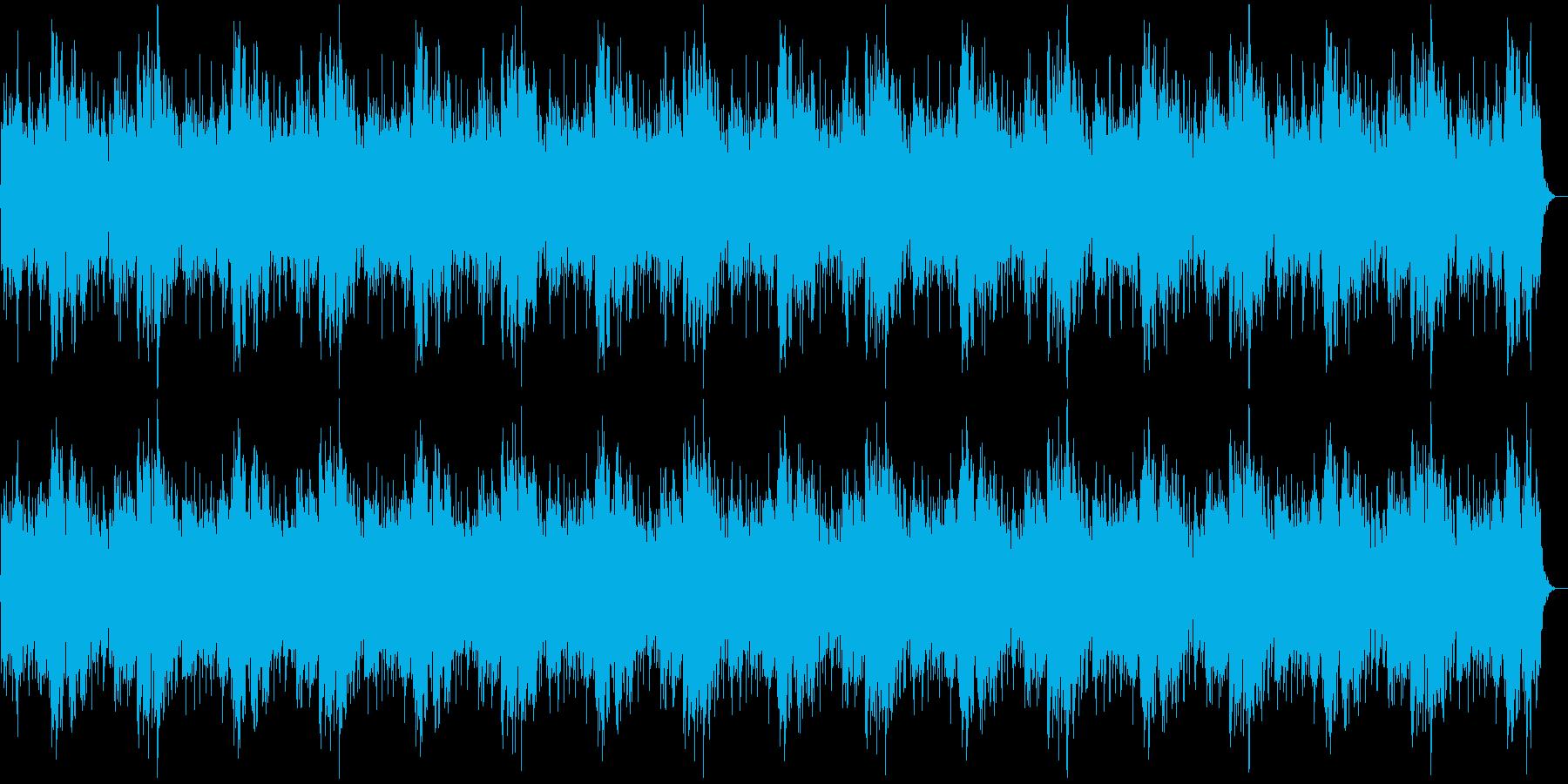 哀愁漂うスローなピアノバラードの再生済みの波形