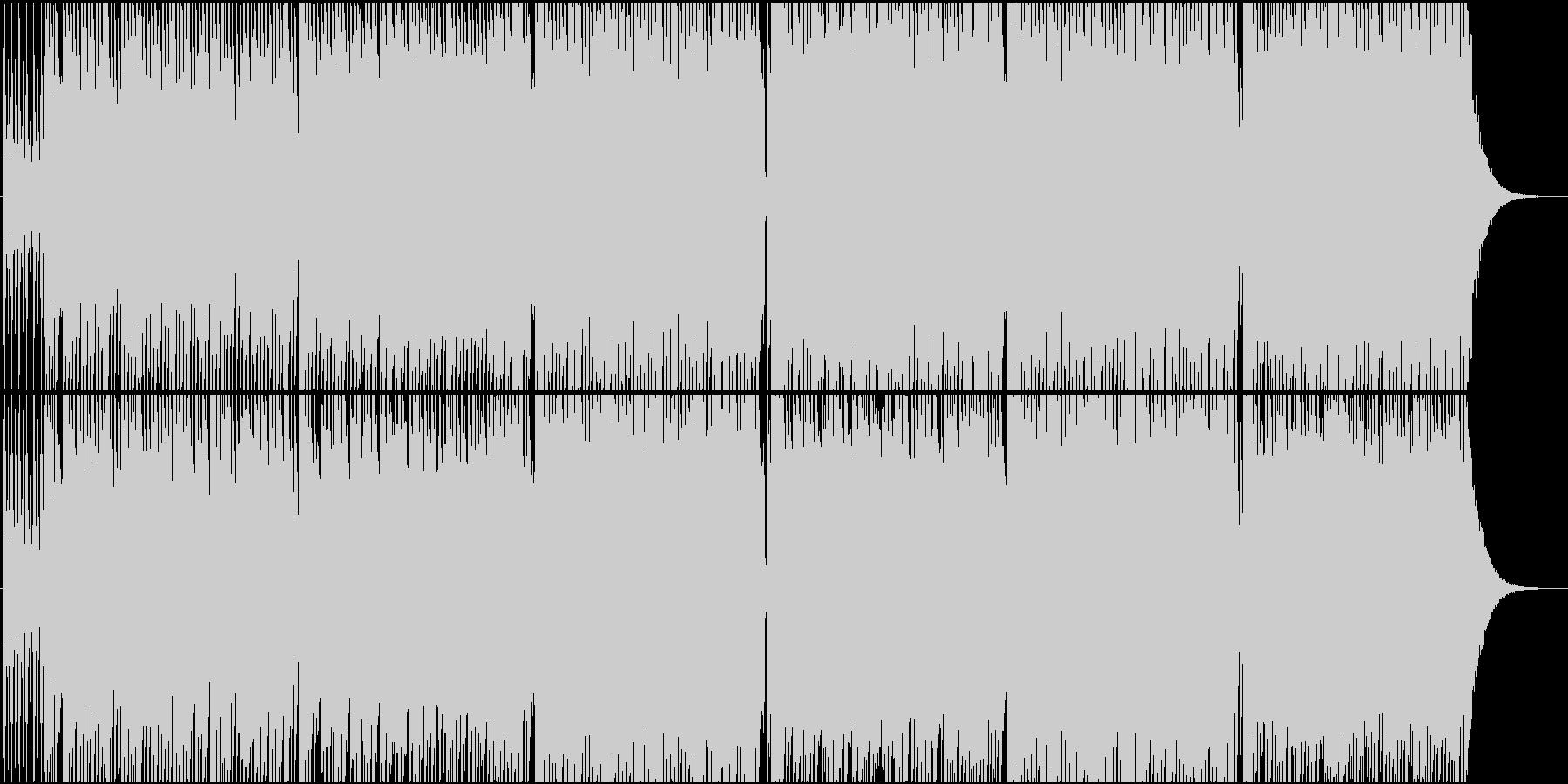往年の名曲「ジングルベル」のカバーの未再生の波形