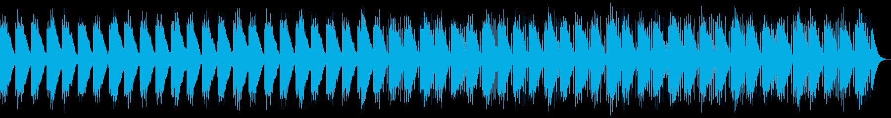 優しい琴の和風ヒーリングの再生済みの波形