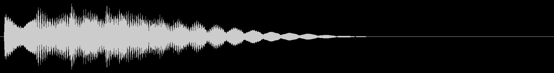 マレット系 決定音15(大)の未再生の波形