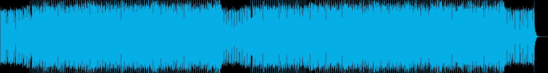 ポップ&アップビートなエレクトロニック♪の再生済みの波形