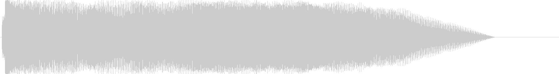 ドーン②(バンドの登場シーン・場面転換)の未再生の波形