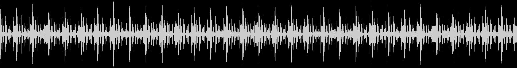 シンキングタイム三拍子のループ素材の未再生の波形