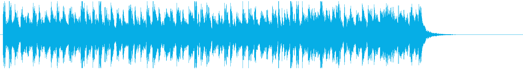 アフリカ系ドラムンベース◆15秒ジングルの再生済みの波形