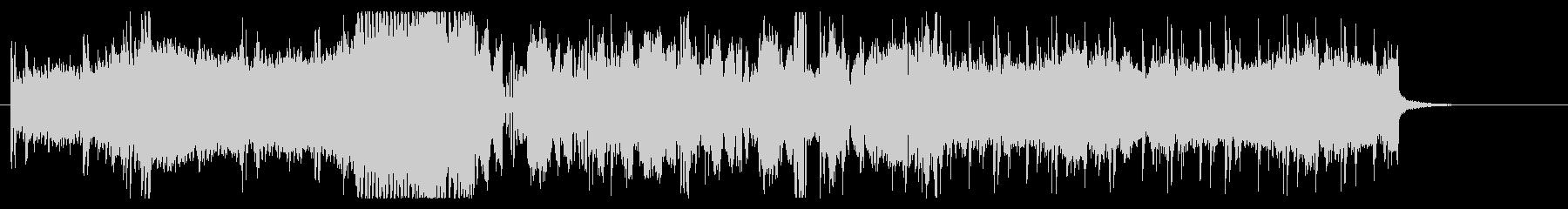 自動車のCMをイメージしたbgmの未再生の波形