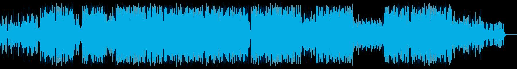 記憶の奥底へとトリップするテクノ/ポップの再生済みの波形