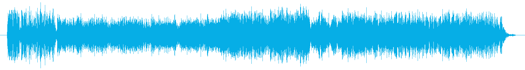そのリフを強化の再生済みの波形
